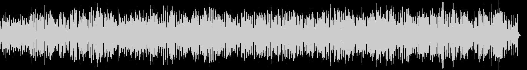 サックスとトロンボーンの明るいジャズの未再生の波形