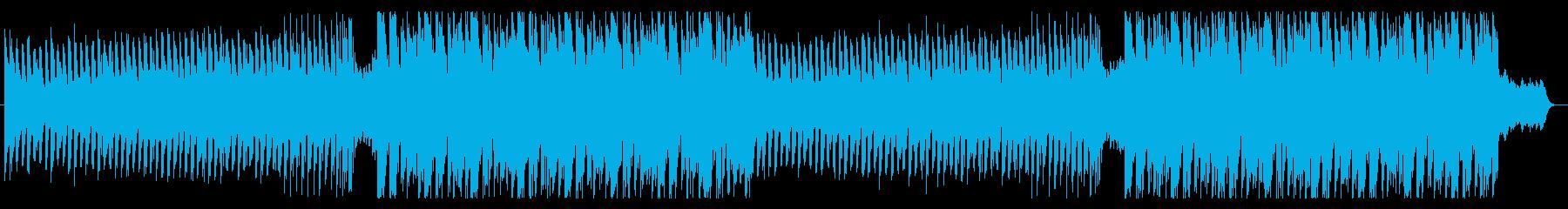不安を感じる、緊張感漂うエレクトロの再生済みの波形