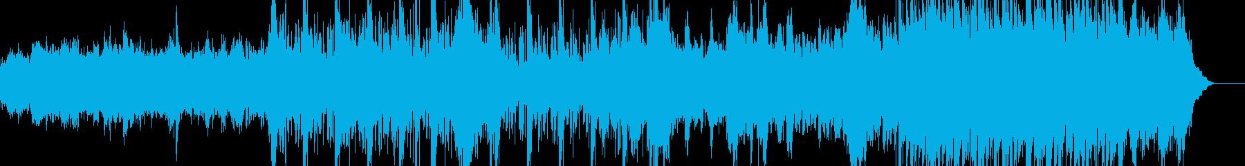 オーガニック、エレクトロニカ、やさしいの再生済みの波形