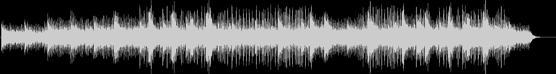 生楽器のさわやかなポリリズムの未再生の波形