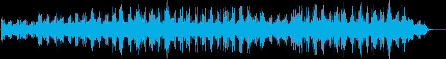 生楽器のさわやかなポリリズムの再生済みの波形