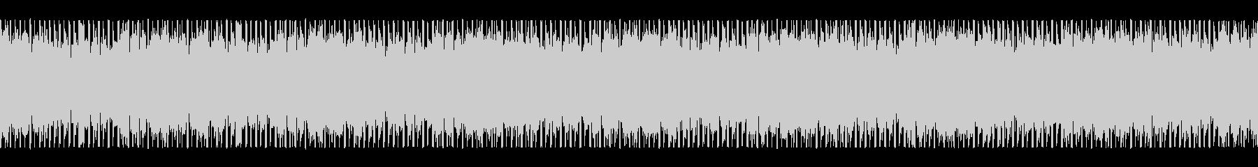 情報を入手する(ループ)の未再生の波形