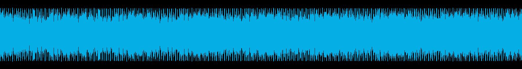 情報を入手する(ループ)の再生済みの波形