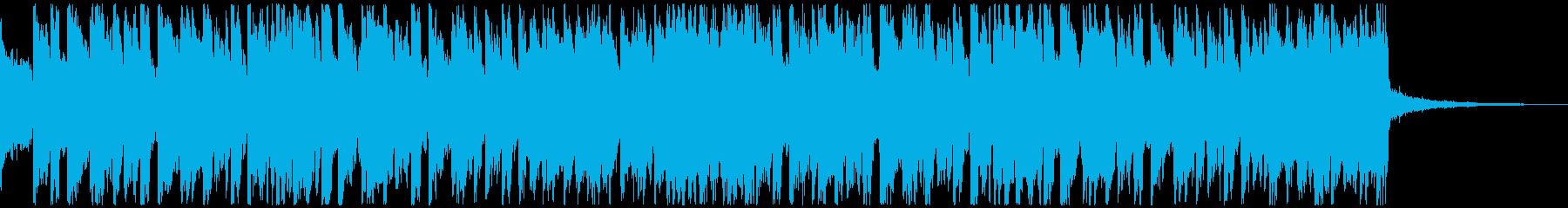 サッカー・スポーツに/情熱的BGM30秒の再生済みの波形