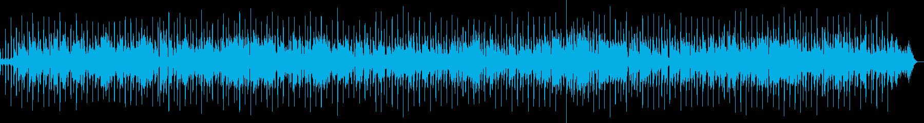 生演奏、ジャズラウンジバーの暗めの店内での再生済みの波形