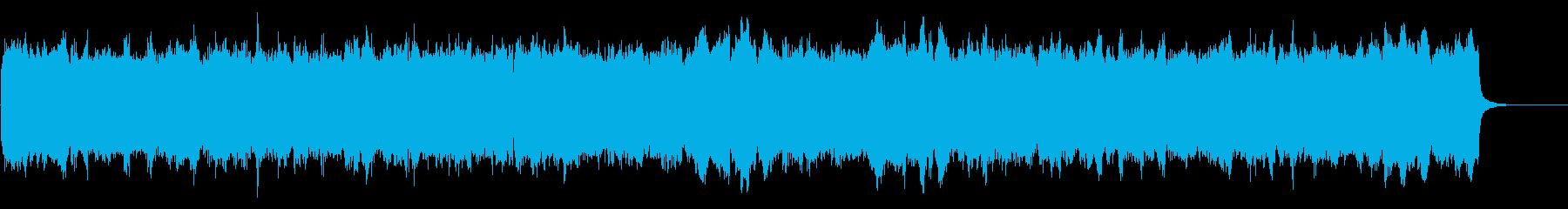 柔らかで優しいブライダルのオルガン曲の再生済みの波形