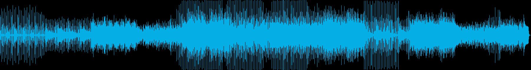 盛り上げる手前で使われそうな曲の再生済みの波形