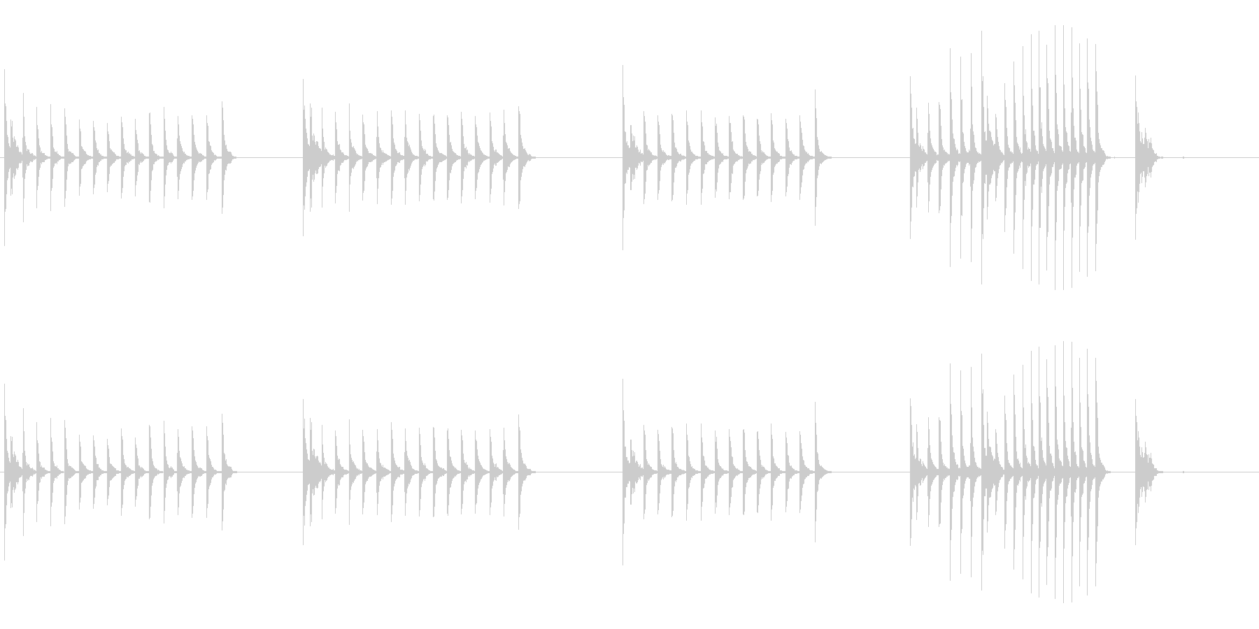 大太鼓21山ヲロシ歌舞伎情景描写和風和太の未再生の波形