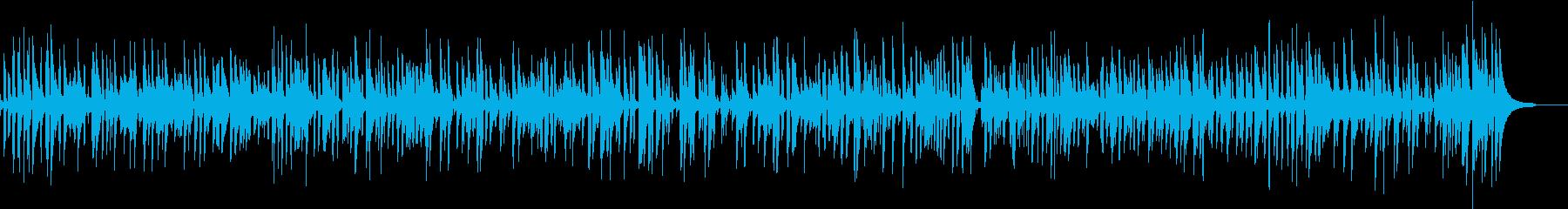ジャズバーで流れるおしゃれなピアノジャズの再生済みの波形