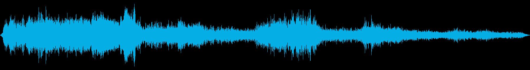 根本的な共鳴うめきを伴うミュージカ...の再生済みの波形