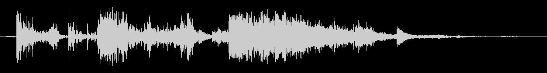 混合ジャンククラッシュの未再生の波形