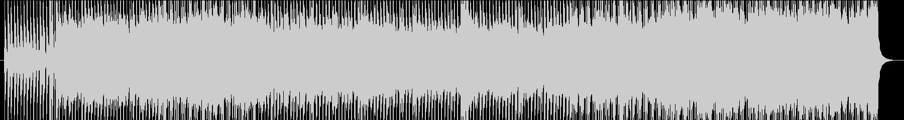 パワフルで疾走感のあるインディーロックの未再生の波形