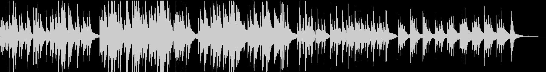 告知 穏やか 16bit48kHzVerの未再生の波形
