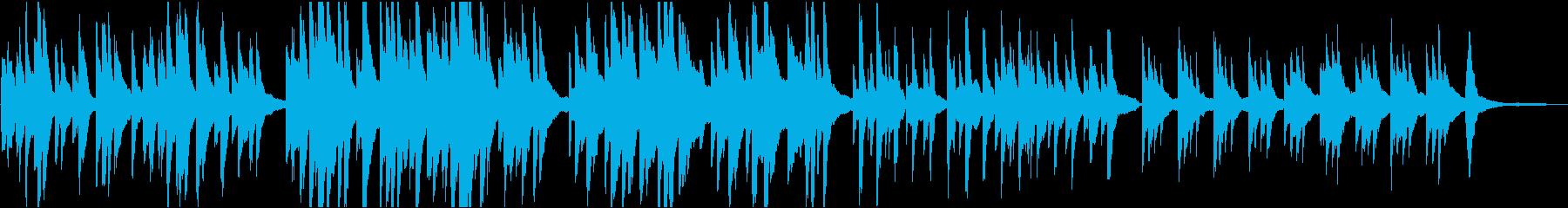 告知 穏やか 16bit48kHzVerの再生済みの波形