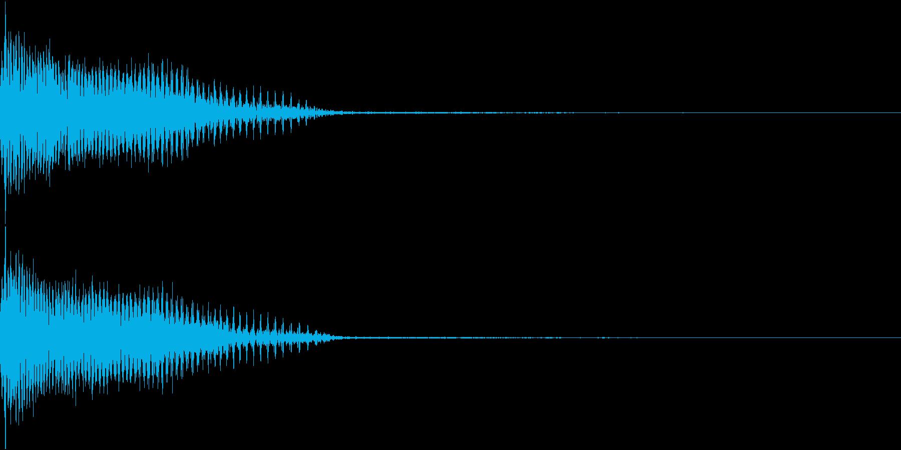 InvaderBuzz 発砲音 22の再生済みの波形