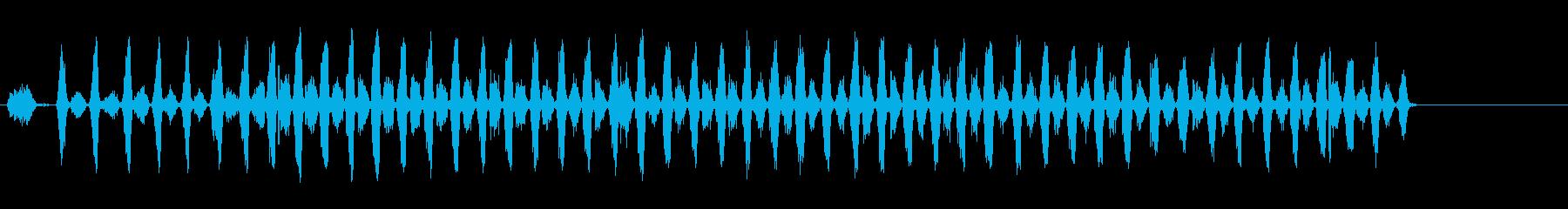 ハンドソー2; FX 61より高い...の再生済みの波形