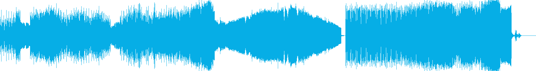 EDM  少しアンダーグラウンド的なト…の再生済みの波形