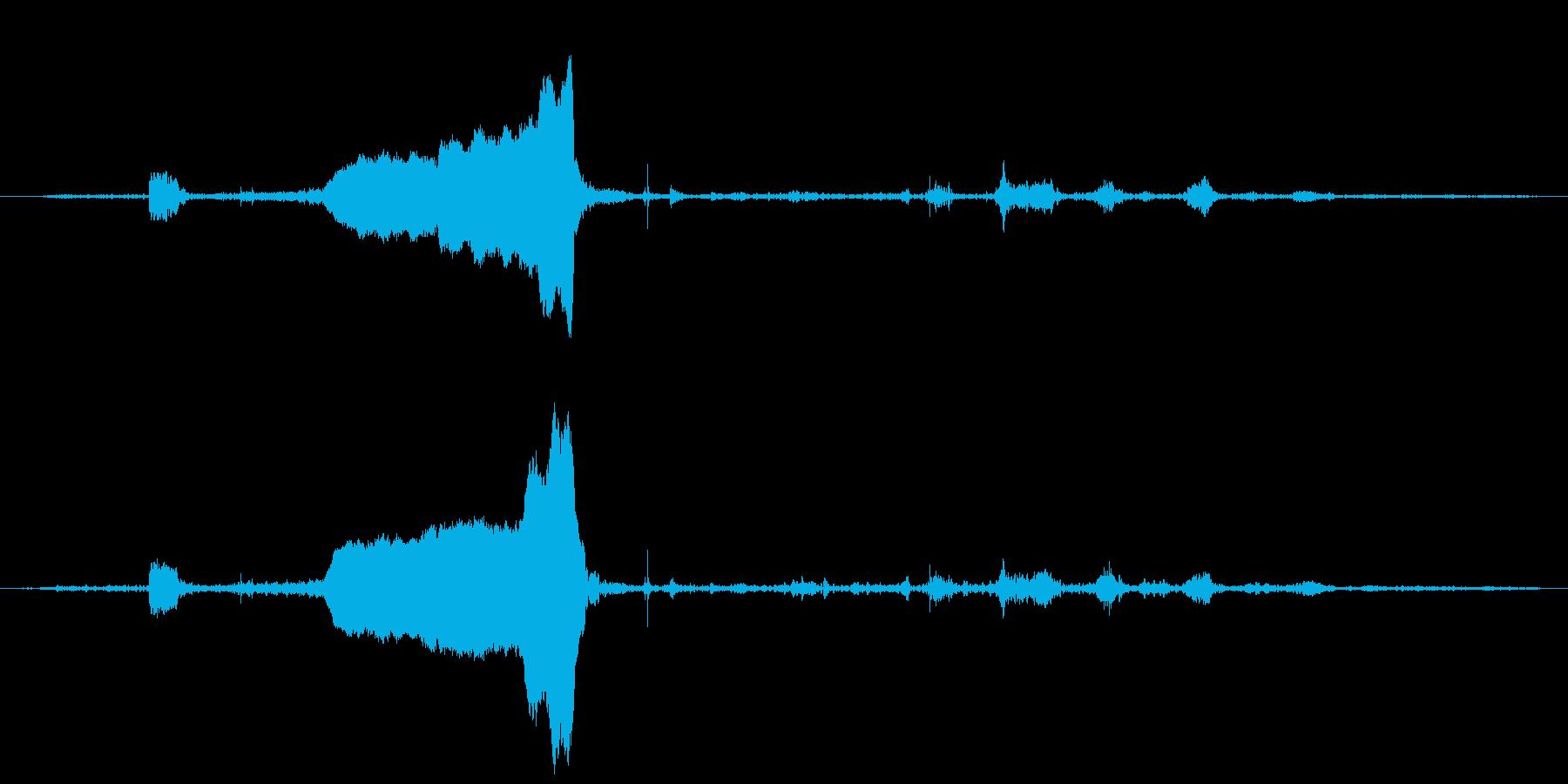 ロバ ブレイスロー02の再生済みの波形
