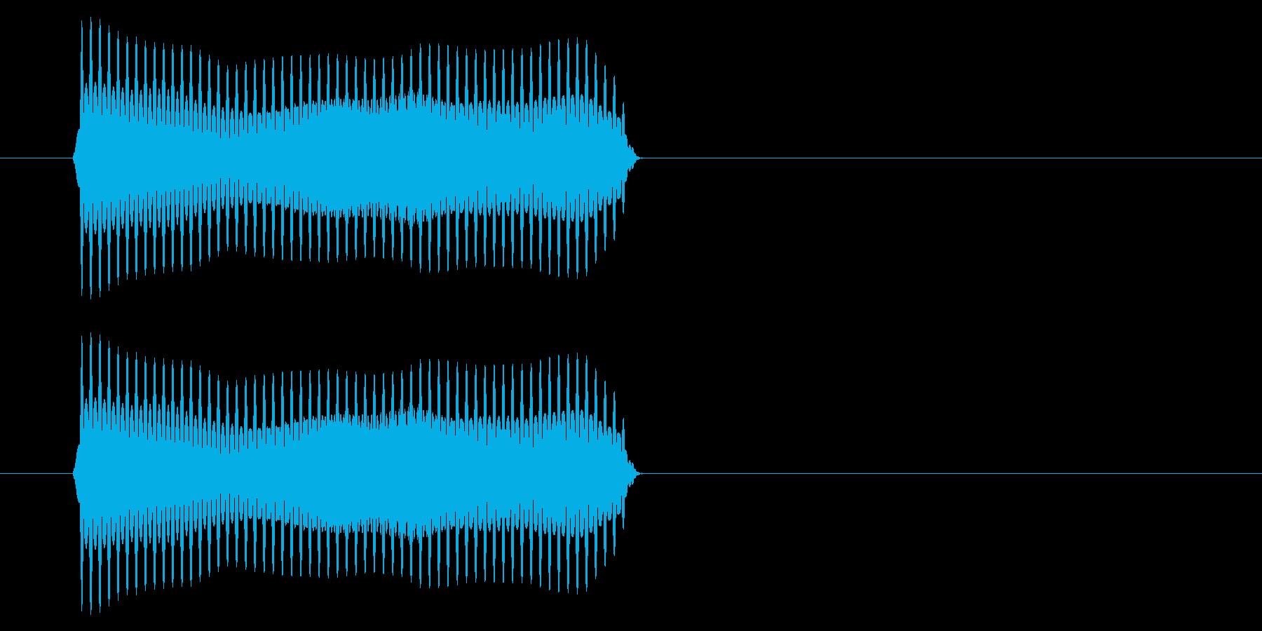 SNES サッカー01-07(ホイッスルの再生済みの波形