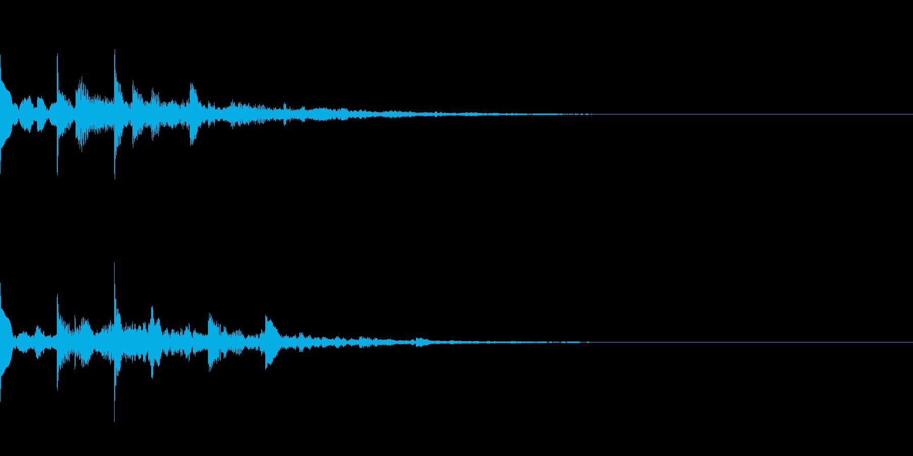 ニュース・お知らせ1の再生済みの波形
