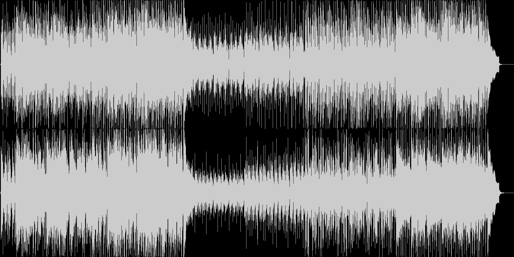 軽快でさわやかな4つ打ちギターポップの未再生の波形