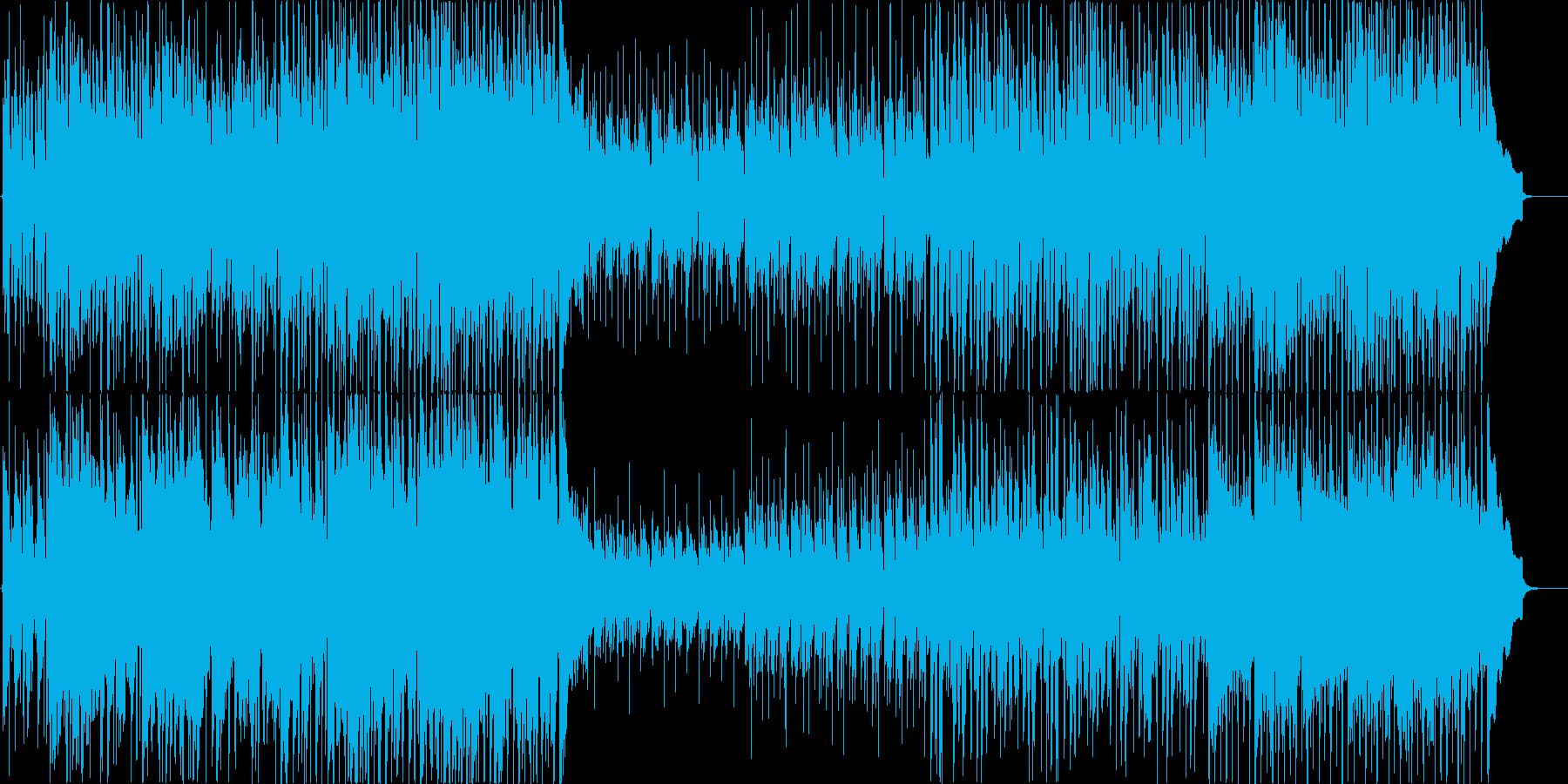 軽快でさわやかな4つ打ちギターポップの再生済みの波形