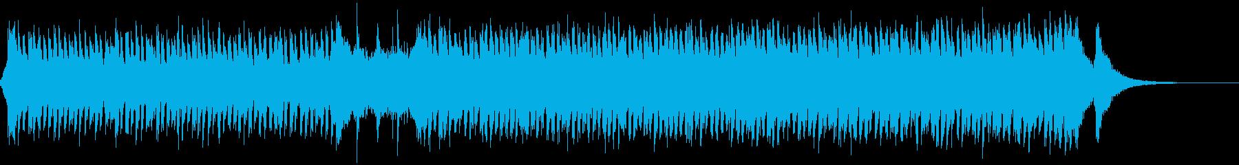 ダンサブルで楽しいハロウィン楽曲の再生済みの波形