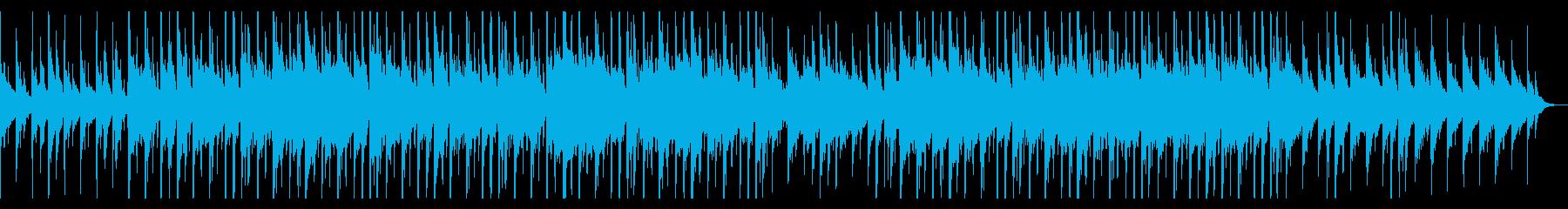 洋楽トレンドチルいLo-Fiヒップホップの再生済みの波形