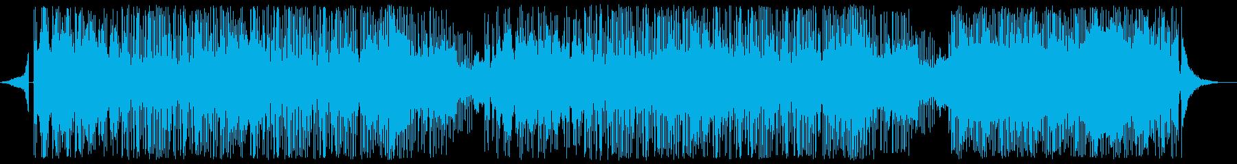 和楽器メロディのフュージョンの再生済みの波形