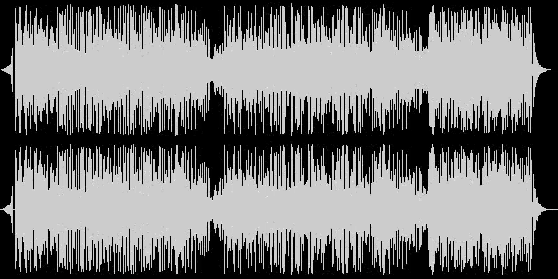 和楽器メロディのフュージョンの未再生の波形