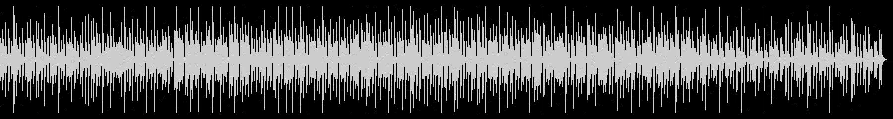 コミカルでのんびりとした楽曲ですの未再生の波形