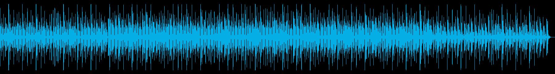 コミカルでのんびりとした楽曲ですの再生済みの波形