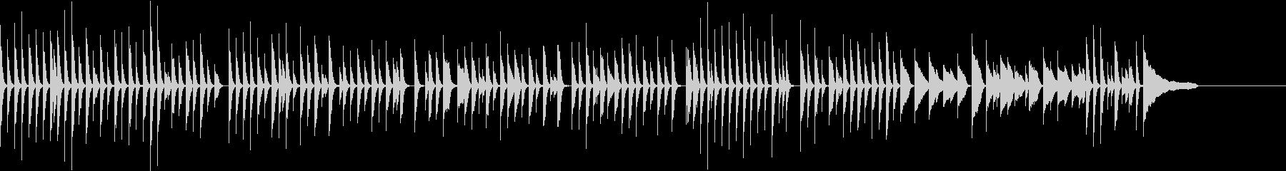たんたんとした日常会話に合う音楽の未再生の波形
