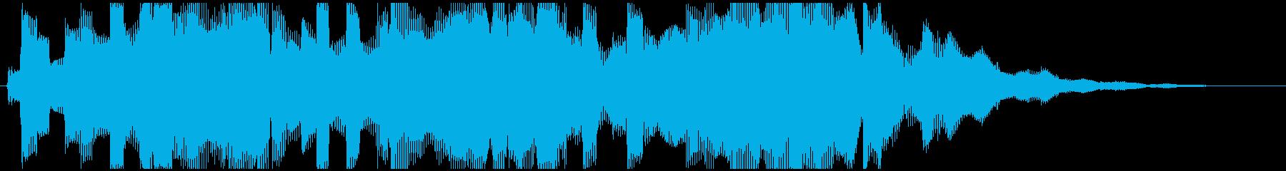 【企業ジングル】深刻な雰囲気/エレクトロの再生済みの波形
