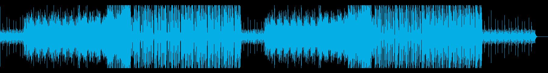 ポップで爽やかFuture Bassの再生済みの波形
