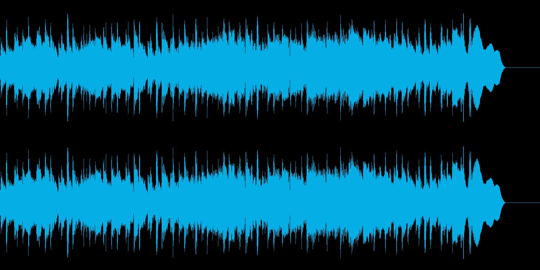 アコースティック楽器。さわやかなア...の再生済みの波形