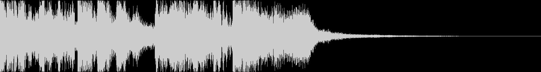 三味線・箏・尺八・和太鼓・ジングル06の未再生の波形