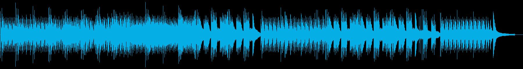 ゆったりと切ないピアノサウンドの再生済みの波形