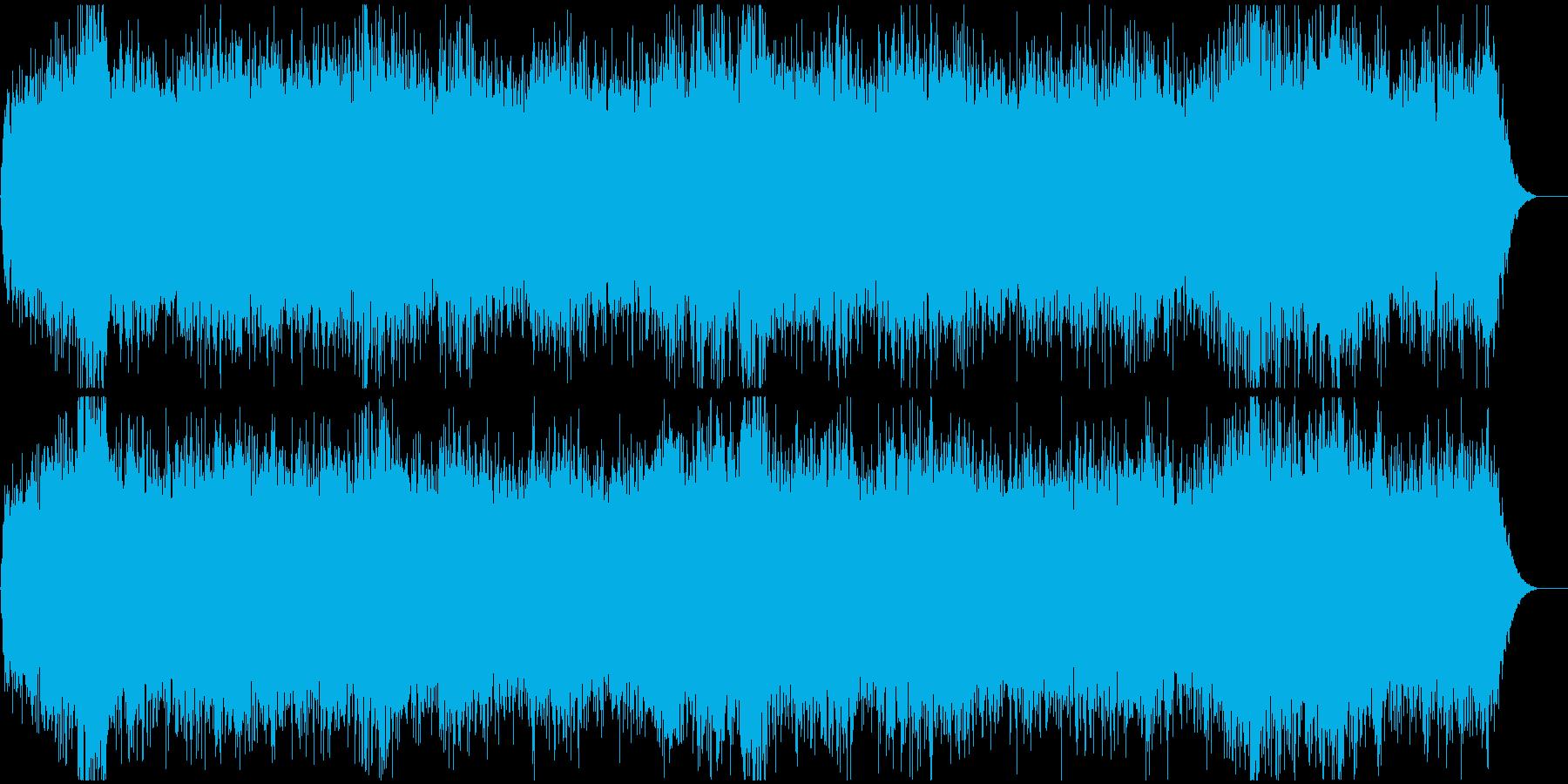 心霊映像の再現VTR用●アンビエント★Bの再生済みの波形