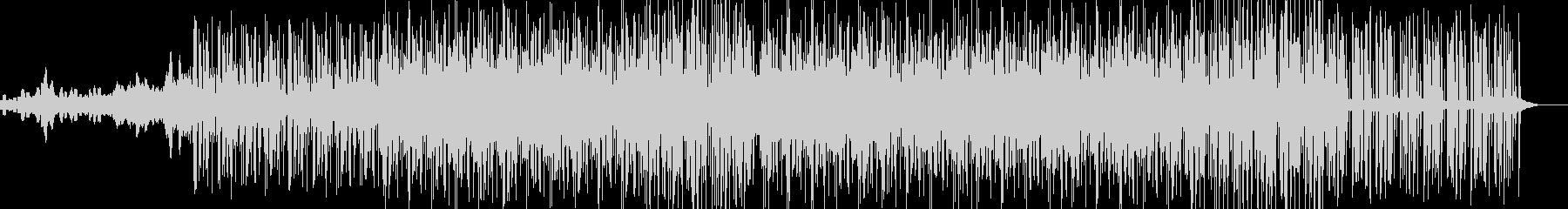 スペーシーなサウンドのイントロは、...の未再生の波形