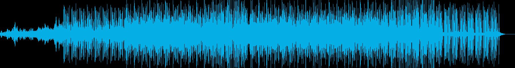 スペーシーなサウンドのイントロは、...の再生済みの波形