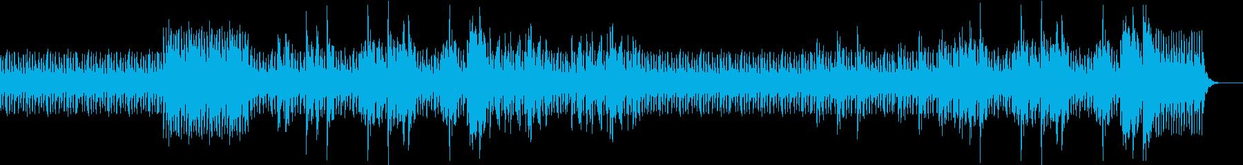 ピアノのミステリアスなインスト曲の再生済みの波形