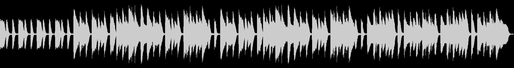ピタゴラスイッチ風かわいいピアノBGMの未再生の波形