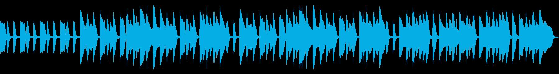 ピタゴラスイッチ風かわいいピアノBGMの再生済みの波形