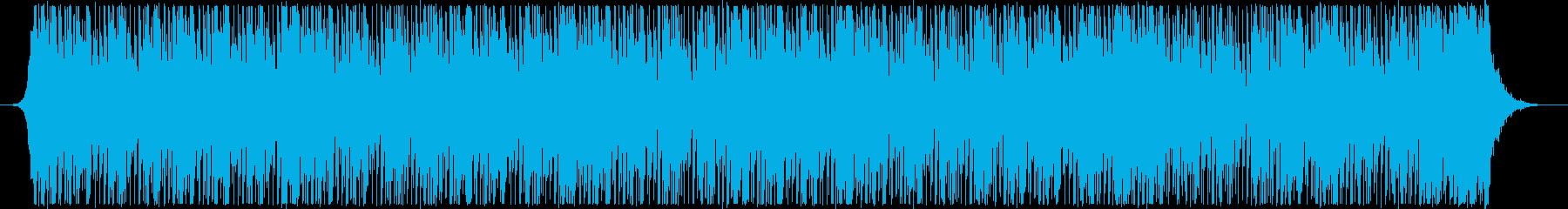 暖かいストリングス、繊細で脈動する...の再生済みの波形