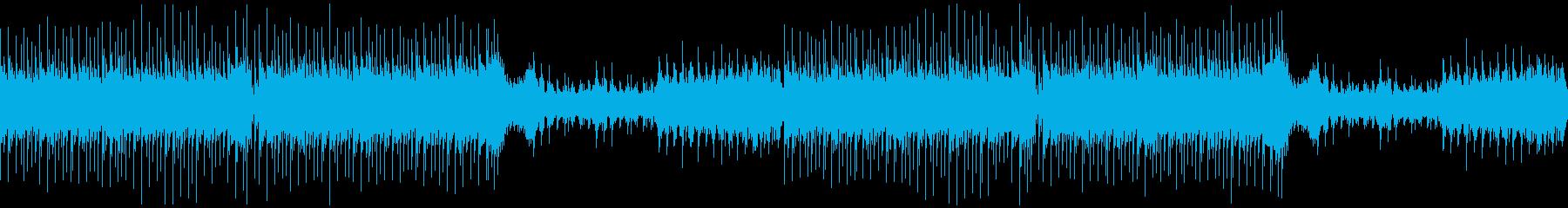 【ループ/メロなし】かっこいい和風EDMの再生済みの波形