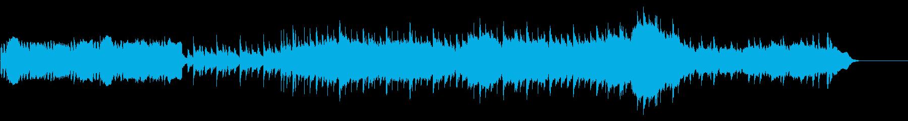のどかな雰囲気のバラードポップスの再生済みの波形