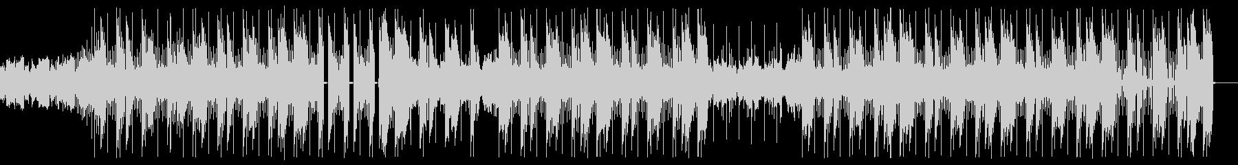 不思議でミステリアスな謎解きヒップホップの未再生の波形