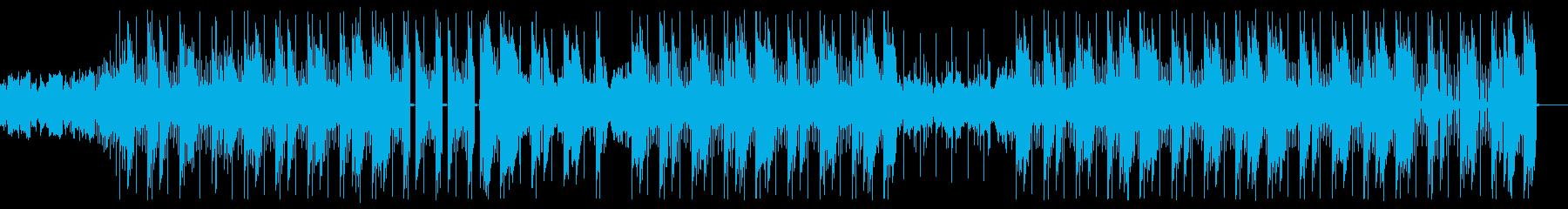 不思議でミステリアスな謎解きヒップホップの再生済みの波形