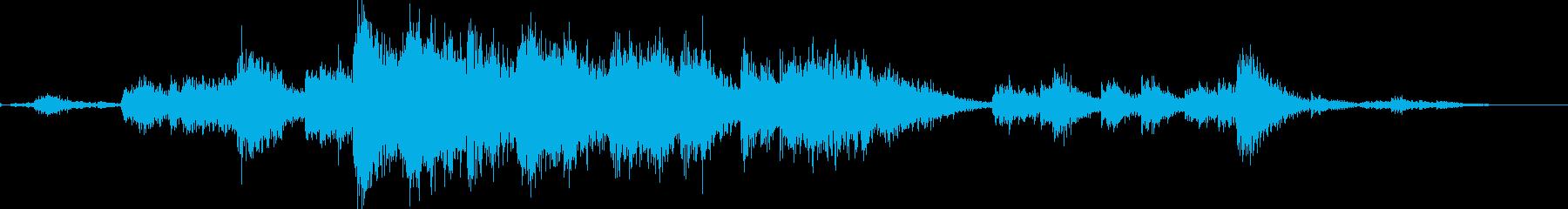 神社 鈴の再生済みの波形
